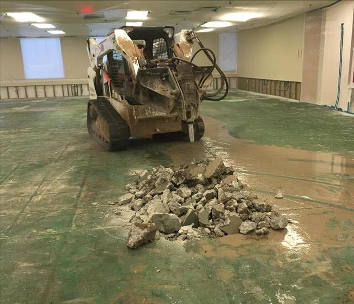 Replacement of Commercial Office floor