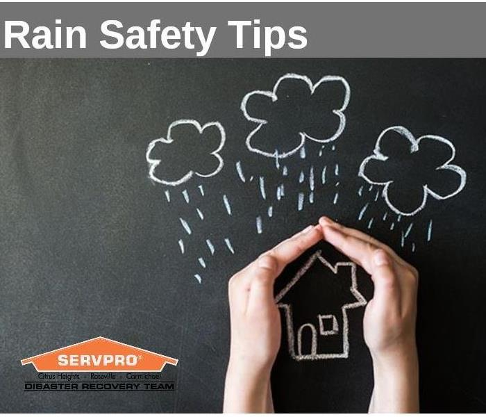 Why SERVPRO Rain Safety Tips for Your House